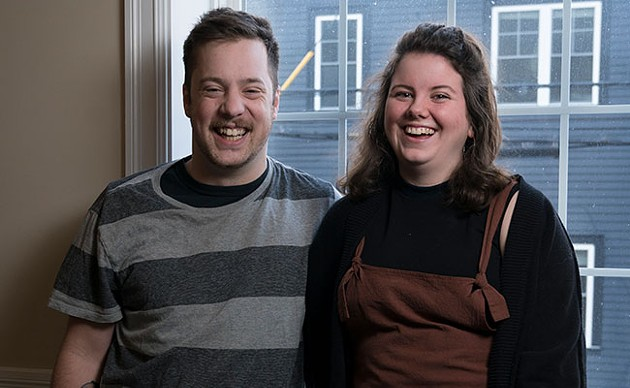Liam Fair and Stepheny Hunter help turn your gripes into comedy. - IAN SELIG