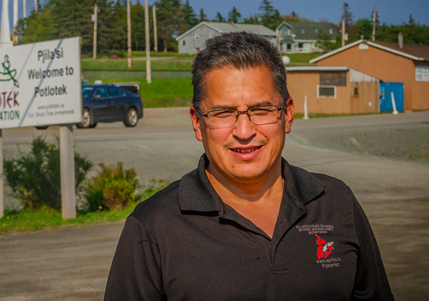 Chief Wilbert Marshall is one candidate proposed by the Assembly of Nova Scotia Mi'kmaq Chiefs for Halifax's Cornwallis panel. - STEPHEN BRAKE, FOR KUKUKWES
