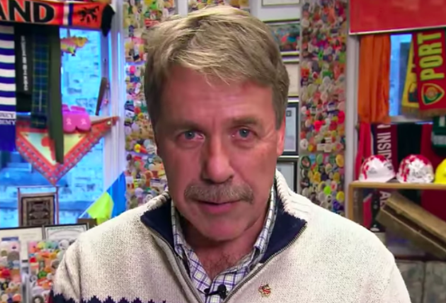 Stoffer, seen in his former Ottawa office in this 2015 sketch from 22 Minutes. - VIA YOUTUBE