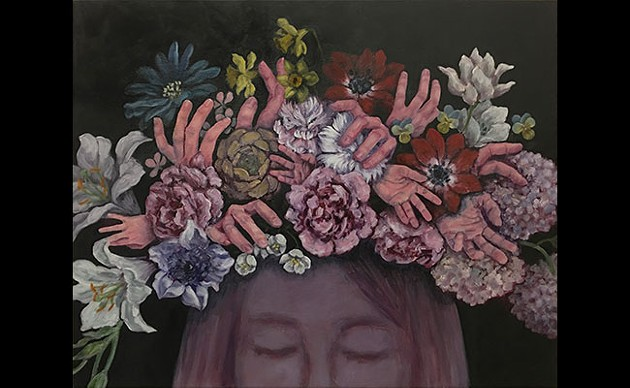 """Okabayashi is """"trying to find the meeting point of human and plant"""" in her work. - SUBMITTED"""