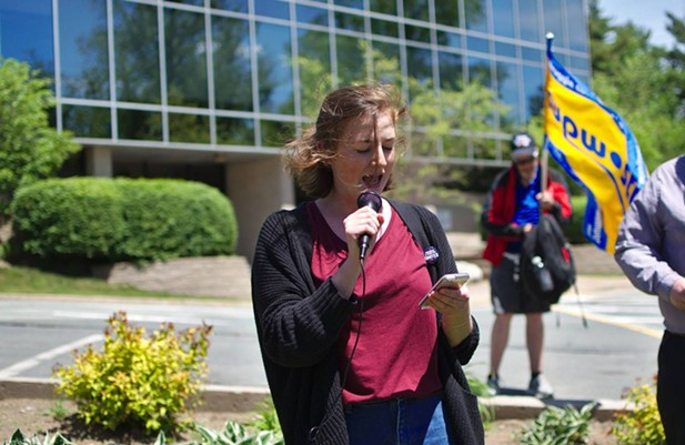 """Aidan McNally is the chairperson of the Canadian Federation of Student—Nova Scotia. The Canadian Federation of Students represents over 600,000 students across the country and through the """"No means No"""" and """"Consent is Mandatory"""" campaigns, has been on the forefront of fighting against sexualized violence on campus for decades. - SUBMITTED"""