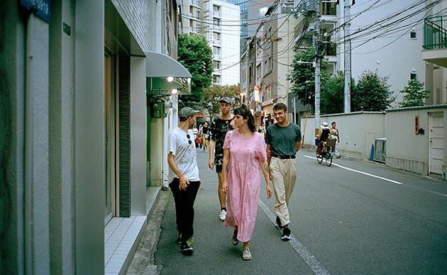 Walking in Shibuya. - MEGHAN ROSS
