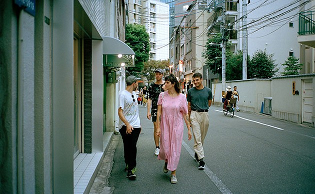 Walking in Shibuya. - MEGHAN ROSS