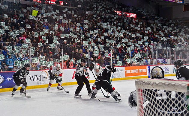 During a nationally televised game, Mooseheads fans sent a message about Halifax's Memorial Cup-hosting readiness. - SUBMITTED