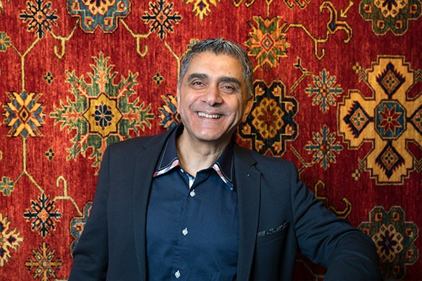 Jafar Tabrizi's high standards for rug quality have kept his business thriving for decades. - IAN SELIG