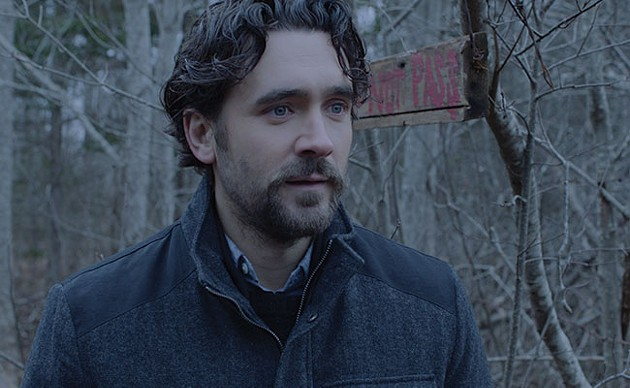 Allan Hawco is not having a very good vacation. - SUBMITTED
