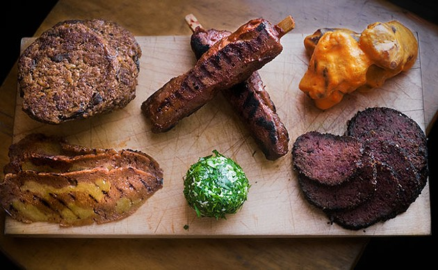 """Faking it til they make it with this """"meat"""" platter - KT LAMOND"""