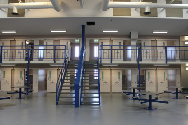 The renovated facilities won't be ready to house inmates until late June. - TUNDÉ BALOGUN