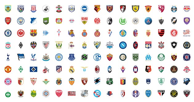 Can you spot the HFX Wanderers crest in this grid of professional soccer team logos? - THE COAST