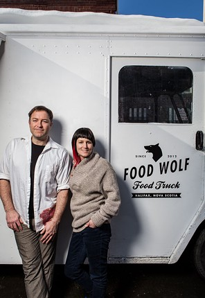 The Food Wolf's Virgil Muir and Natalie Chavarie - MEGHAN TANSEY WHITTON