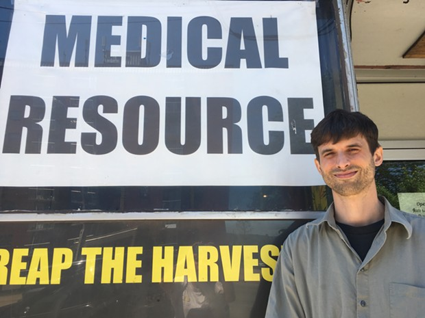 Christopher Enns is the owner of Farm Assists and organizer with the NSMACD. - SANDRA C. HANNEBOHM