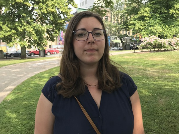 Restorative justice caseworker Shila LeBlanc says her union is ready to strike. - THE COAST