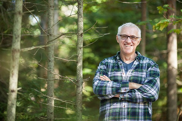 Urban forester John Simmons retires this month after 34 years speaking for the trees. - PHOTOS MEGHAN TANSEY WHITTON