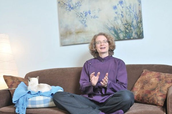 Buddhist Project Sunshine author Andrea Winn. - SUBMITTED