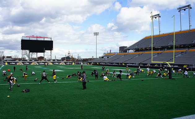 Tim Hortons Field in Hamilton is the blueprint for what Maritime Football wants to build in Halifax. - PHOTO BY JFVOLL, VIA WIKIPEDIA