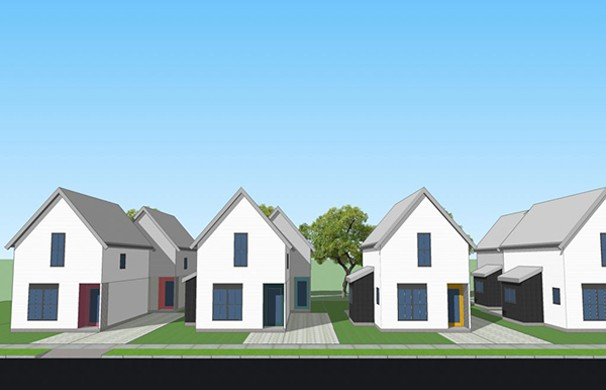 The proposed Stanley Street micro community of eight homes on four adjacent lots in the Hydrostone is part of what's missing in HRM's housing starts. - SCREENSHOT VIA STANLEYSTREETHOMES.CA
