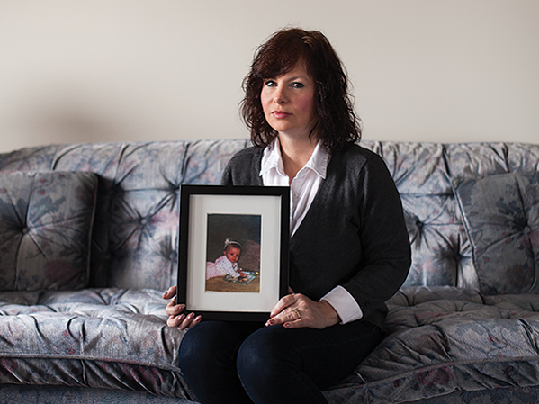 Linda Emberley has been told it will take two years for adoption services to give her the same information it's already released to her daughter. - MEGHAN TANSEY WHITTON