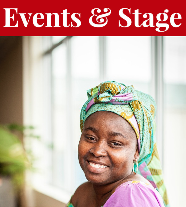 Mary Nkrumah helms both a popular Seaport Market stall and Barrington Street restaurant. This Thursday, she steps out of the kitchen to give you a glimpse of African cooking. - MEGHAN TANSEY WHITTON PHOTO