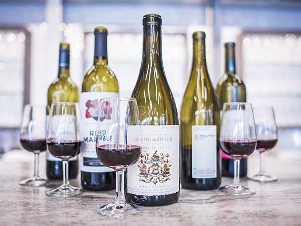 """Mike Mainguy says the """"snobbery"""" around local red wine is disappearing - KYLEE NUNN"""