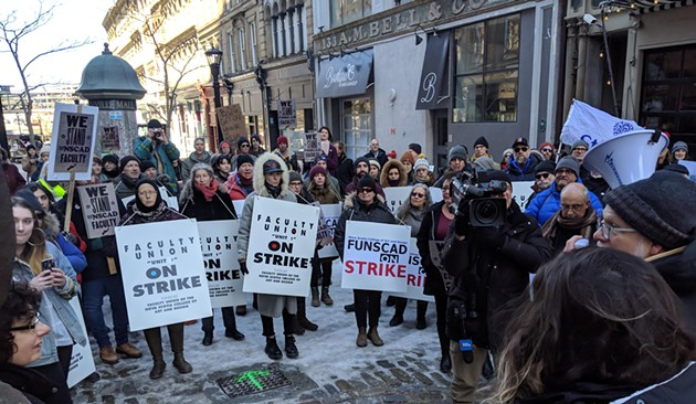 NSCAD faculty and librarians are on strike. - CAORA MCKENNA