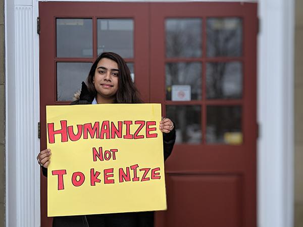 Faiza Nauman couldn't afford to be an incoming international student at Dalhousie. - CAORA MCKENNA