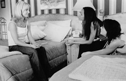 The movie Crossroads— with Britney Spears, Zoe Saldana and Taryn Manning—was what counted as an information source on ending a pregnancy. - FILM STILL VIA IMDB.COM