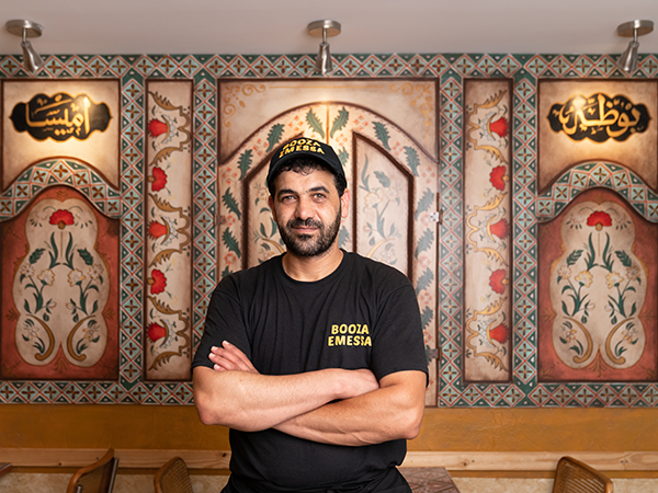 """""""I loved ice cream as a child, but we were from a poor family,"""" says Booza Emessa's Samer Aljokhadar. """"We couldn't have it all the time."""" - IAN SELIG"""
