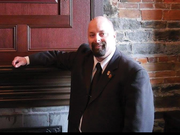 """Aron Spidle holds a master's degree from Acadia University. He's a""""slightly eccentric"""" German-Scots descendant of the - Plantagenets, serving where, and as he can. - SUBMITTED"""