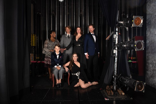 The cast of  The Last Wife keep several love triangles simmering throughout the play's two-and-a-half hour runtime. - STOO METZ PHOTO