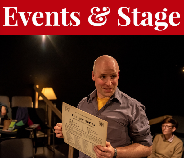 2019 Fringe Fest favourite Kick At The Dark Theatre Co-op returns with a play that's equal parts stand-up comedy and storytelling. - STOO METZ PHOTO