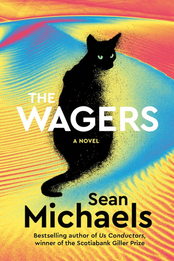 Michaels' The Wagers also stars a fictional Montreal full of strutting peacocks and mathematician gamblers.