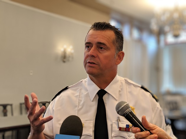 """On behalf of the Halifax Regional Police, I am sorry,"" chief Dan Kinsella said. ""I am sorry for the actions that have caused you pain."" - THE COAST"