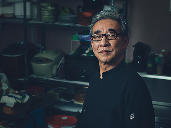 """""""It's a story,"""" says Shigeru Fukuyama of his customers who become friends. - LENNY MULLINS"""