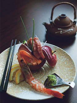 There's a wide selection of fish at Sushi Shige, sourced both locally and from Japan. - LENNY MULLINS