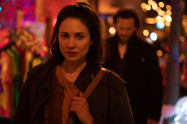 Tuppence Middleton feeds your true-crime addiction as she plays a woman remembering a kidnapping she witnessed in childhood, diving into Niagara Fall's underbelly while  searching for the truth. - SUBMITTED FILM STILL
