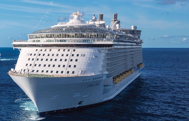 The massive Oasis of the Seas will no longer be bringing 5,600 people to Halifax June 25. - ROYALCARIBBEAN.COM