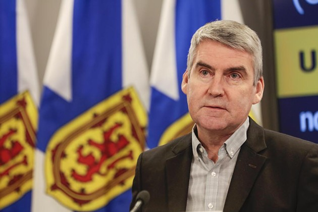 Stephen McNeil didn't want to declare a state of emergency, but we left him no choice. - COMMUNICATIONS NOVA SCOTIA