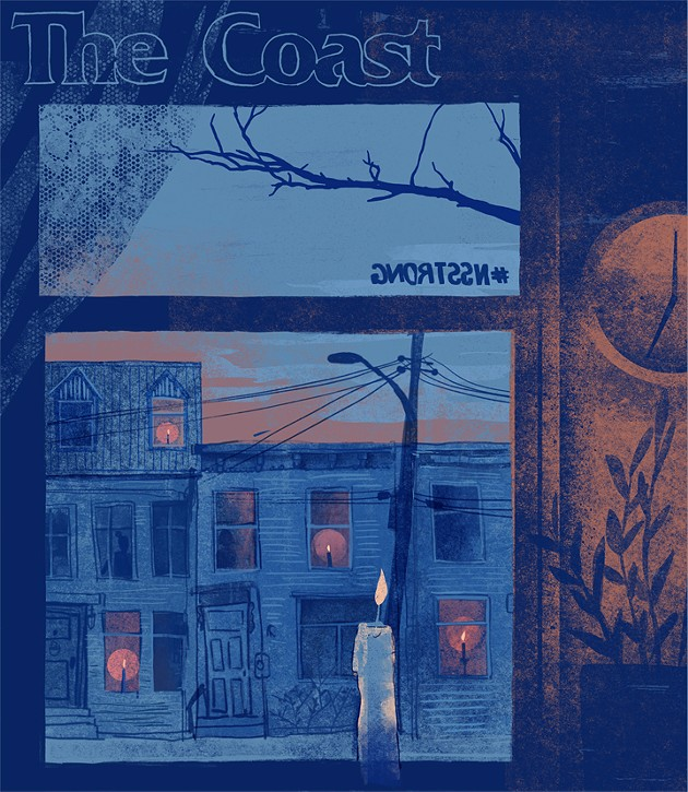 A virtual Coast cover for the week of April 23, 2020. - AZIZA ASAT