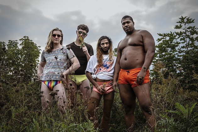 Jeremy Costello, Nathan Doucet, Nick Dourado and Lance Sampson are Aquakultre. - CAITLIN CRONENBERG PHOTO