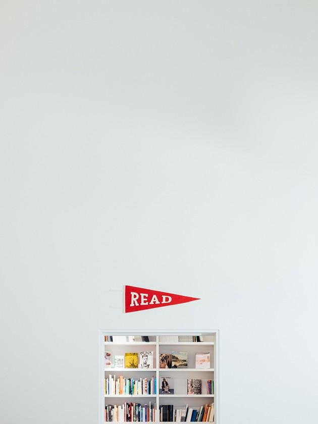 A book is like a movie, but in your head. It's like a tweet, but longer. - PAUL HANAOKA PHOTO