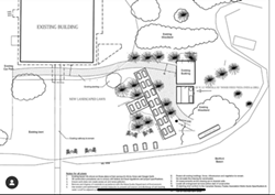 Plans for the site of the former Chinatown restaurant. - BIRCH & ANCHOR INSTAGRAM