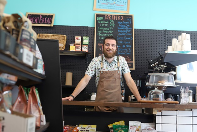 Gavin Meehan is the new owner of Finsbury Market, in the former European Pantry on Chebucto Road. - VICTORIA WALTON