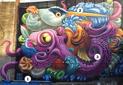 Jason Botkin's mural at 1729 Barrington Street. - MIKE RITCHIE