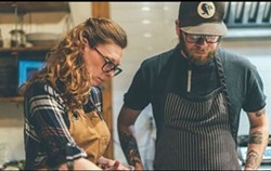 Hop Scotch owners Stephanie Ogilvie and Brock Unger are a powerful duo in and out of the kitchen - PHOTOTYPEHFX