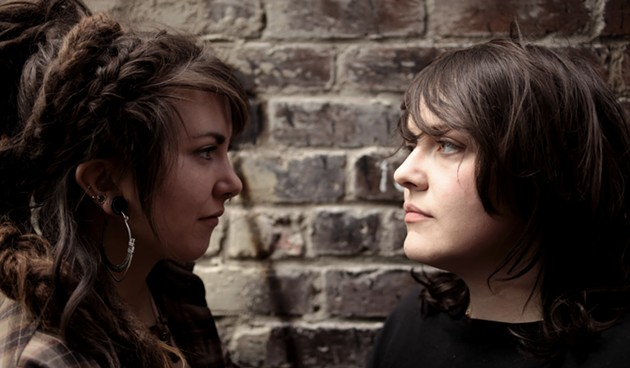 The folk duo Mama's Broke have a fan in string-picking pioneer Kaia Kater. See 'em perform on a beach in Canning this Saturday. - MAMASBROKE.COM
