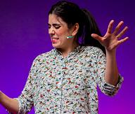 Rebecca Thomas is a Mi'kmaq activist and Halifax's former poet laureate. - HANNAH GRACE