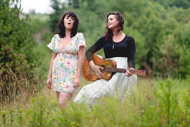 Factory Girls' sweet spin on folk music has us hooked. See the duo live at Gus' Pub on Saturday. - KAYLA MACAULAY PHOTO