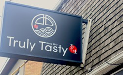Open since 2012, Truly Tasty is the longest-running ramen shop on the peninsula. - VICTORIA WALTON