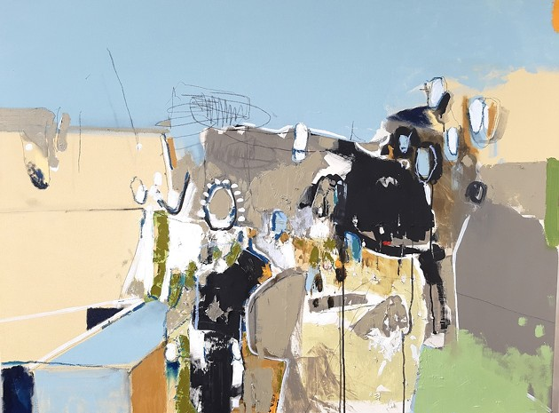 This Studio 21 art show gives us serious Abstract Expressionist vibes. - JEAN-FRANÇOIS PROVOST