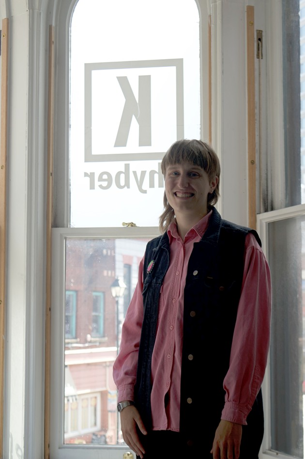 """""""Because of the amazing history of the Turret Club and the Gay Alliance For Equality, this space has a home in queer history,"""" Turret Arts Space Society president Emily Davidson says. - MORGAN MULLIN"""